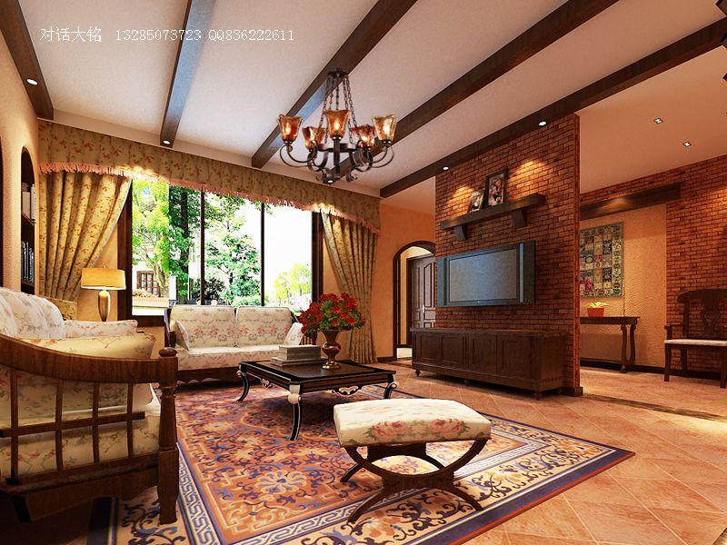 郑州住宅 东南亚风格装修设计